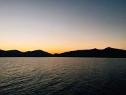 Un autre couché de soleil sur les îles