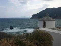 Église Panagitsa of Pyrgos à Skopelos